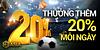 daily20 VN - THƯỞNG 20% MỖI NGÀY LÊN ĐẾN
