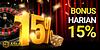 Dialy 15 ID - Bonus Harian 15%