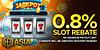 SlotsRebate - Slot 0.8% Rebate