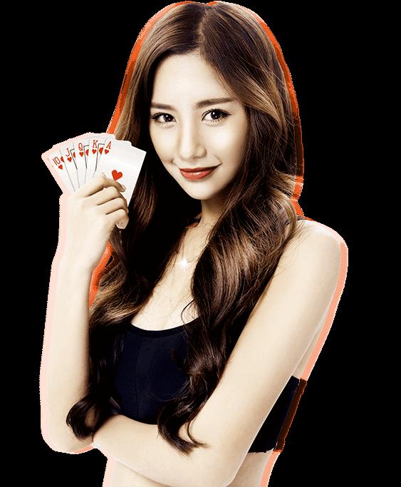 poker girl - Home