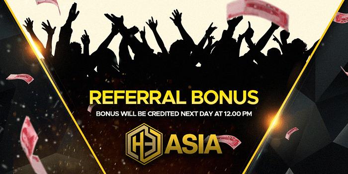refer a friend asia - Referral Bonus