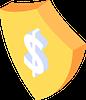 dollar shield - 银行