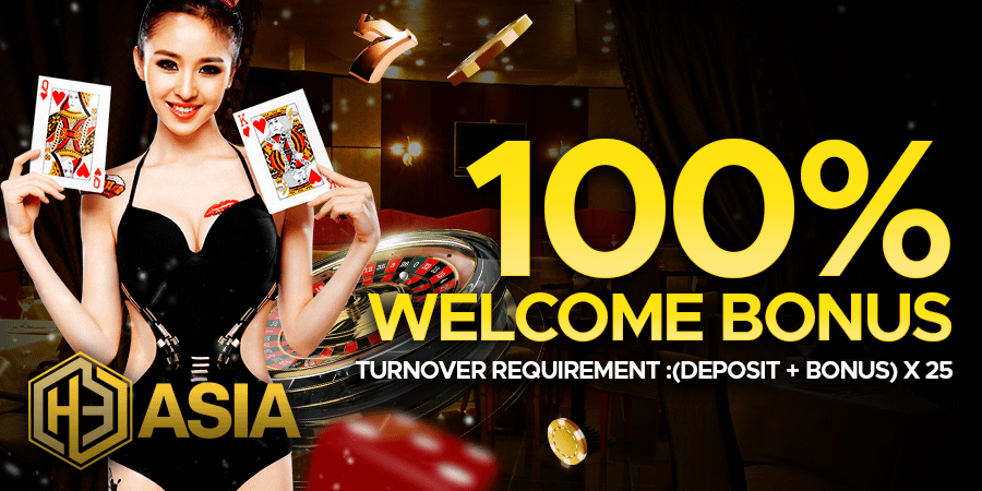 100 Welcome Bonus EN 1 - 100% Welcome Bonus